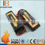 Factory directly selling TUV UN standard 3.7v lithium polymer battery for RC airplane and helicopter battery