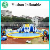 Guangdong factory cheap giant inflatable unicorn pool float