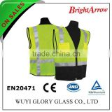 ENISO 20471 Standard cheap reflective pink Security waistcoat