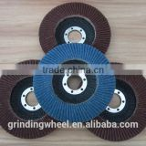 H311 T27/29-180X22.23 High quality white corundum flap disc for polishing mental, stainless steel