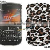 Leopard Skin Hard Case for Bold 9900 9930. Leopard Skin for BlackBerry Bold 9900 9930. Leopard Skin Cover for BlackBerry mobile
