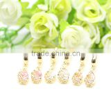 High quality cubic zirconia stone hook style new 2016 latest gold earring designs