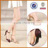 formal new style Handmade latest ladies shoes