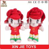 customize plush doll toys 10inch doll type plush material toys ICTI factory stuffed doll toy