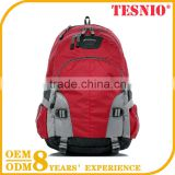 Red Best Folding Travel Backpack Gym Bag Sports Carry Bag Making Machine Folding Cooler Bag With Stand