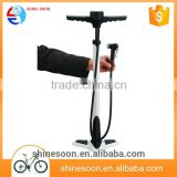 High pressure 10 bar iron bicycle floor pump porta ble car tire hand air pump