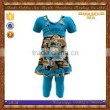 New arrive middle east arabic Pakistan kids clothing wholesale nightwear children clothes