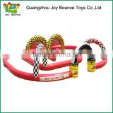 kids inflatable go kart track game for sale