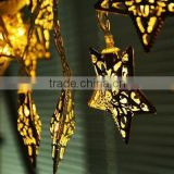 3M 20 Star LED String Fairy Lights Christmas Xmas Party Decoration Warm White