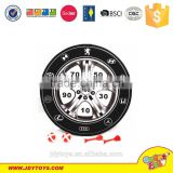 2015 newest product 36cm dartboard game(white/black) with 2darts & 2 balls,dart target toy