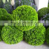 China Wholesale high quality artificial grass ball artificial boxwood ball for decoration