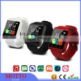2016 Promotional Gift Fashion Sport Watch Bluetooth Smart Watch U8