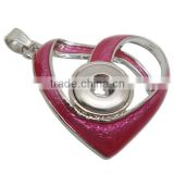 wholesale pendant lighting snap button pendant necklace with high quality