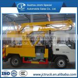 FOTON 4X2 high lifting platform boom lift truck, Articulated Boom Overhead Working Truck