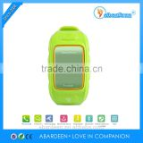 Child Personal GPS Tracker Watch with Longitude Latitude Altitude Speed Displaying Phone Function