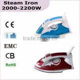 Steam Iron handy home electric pressing iron/ iron 2000-2200W(HK-068)