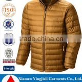 Ripstop nylon shell fabric 600 fill power duck down insulation best down jacket men                                                                                                         Supplier's Choice