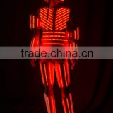 RGB LED Robots Costumes, Stage show LED Robots suits
