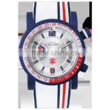 Calgary watches Marine blue with Cristal Elements
