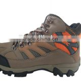 Wholesale leather Outdoor hiking shoes top quality waterproof trekking boots hot sale men shoes