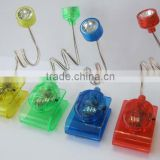 plastic mini clip reading led book light for promotion                                                                         Quality Choice