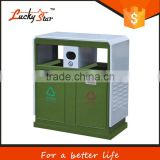 120 liter big size of outdoor automatic plastic public dustbin