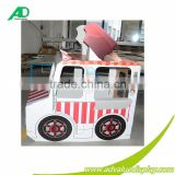 Light Weight Corrugated cardboard car for Advertising,creative paper cardboard car for kids