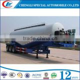 China manufacturer 45cbm tri-axle Bulk cement Tank trailer 45000 liters bulk tanker trailer exporting for sale