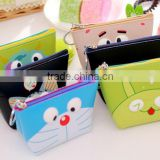 Fancy Promotion gift cute PU Leather Zipper Mini small cheap cartoon animal printed pouch wallet zhejiang custom euro coin purse
