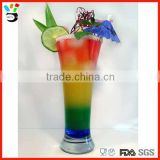 2015 hot selling glass item 350ml vintage barware cocktail mixing glass