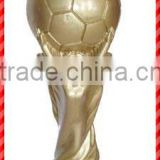 Sparkling gold man basketball resin Trophy Parts