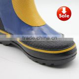 cheap warm steel toe insert safety rain boots