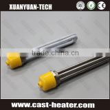 Stainless steel heating element for tanks