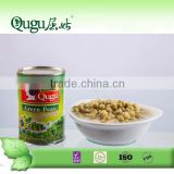 2016 health food high quality canned beans 425g canned green peas