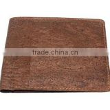 New trend product eco friendly vegan wallet cork material mens wallet
