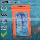 water proof bag/for iphone 6 waterproof case/waterproof phone pouch