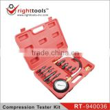RIGHTTOOLS RT-940036 Diesel Engine Compression Tester Kit