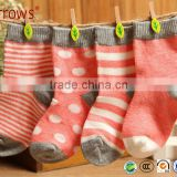 Autumn Winter High Quality Newborn Infant Cotton Socks for Baby Warm Terry Socks Toddler Boy Socks 4pairs/lot