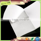 Manufactory Wholesale Self Adhesive Blank Fabric Sticker Label