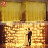 Wedding stage background twinkle decoration outdoor hanging led christmas curtain waterfall lights