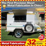 OEM or Customized trailer caravan with 32-year experience