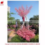 2015 New product artificial pink flower lager tree large outdoor tree Christmas ornament peach blossom