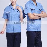 GZY Men's Short Sleeve Mechanics workwear bright colored short sleeve mens shirts