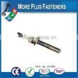 Made in Taiwan Diameter Greasable Hinge Hitch Pin With Chain Special Fasterner Dormwork Flat Rib Pin