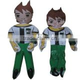 Ben 10 Boy Cartoon Shape Toys inflatable Pvc toy for children,Promotion toys