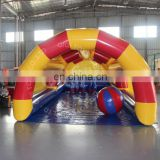 bowling pins track for sale /Cheap Price inflatable zorb ball bowling game/Grass