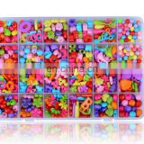 Acrylic Stringing Beads Beaded Children's Educational Toys