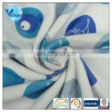 Factory Cutomised Microfiber Fabric 100%Polyester Jacquard French Terry Fabric