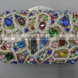latest design crystal evening clutch purse(BOG71-3)