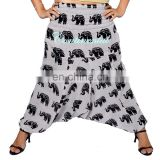 Unisex INDIAN Ali Baba Harem Yoga Women Aladdin Harem Pants Elephant Gypsy Hippie Baggy Pants Afghani Trouser wholesale